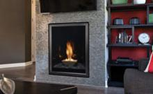 Portrait Style Direct-Vent Fireplaces