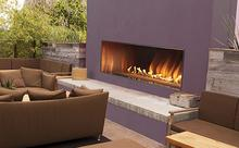 Outdoor Linear Fireplaces