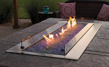 Outdoor Linear Fire Pits