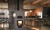 Valcourt FM1200 Mass Fireplace with Oven