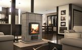 Valcourt FM400 Mass Wood Fireplace