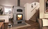 Valcourt FM1000 Mass Fireplace with Oven