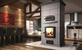 Valcourt FM1500 Mass Fireplace with Oven